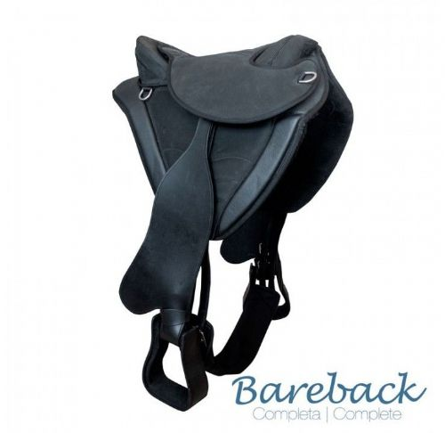 Treeless bareback saddle